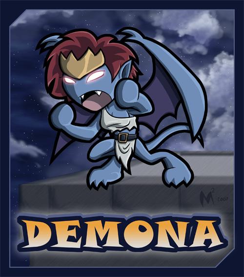 Lil Demona by MattMoylan