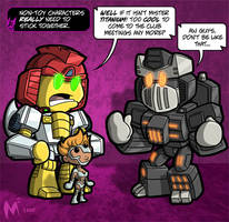 Lil Formers-Non Toy Characters by MattMoylan