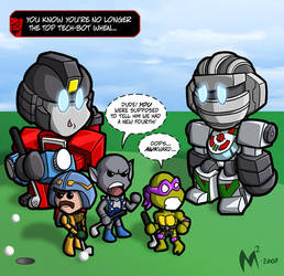 Lil Formers - Tech Bots by MattMoylan