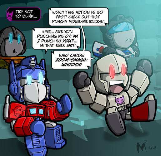 The Transformers (1984–1987) - Transformers: Animated (2008– ) Lil_Formers___More_Movie_by_MattMoylan