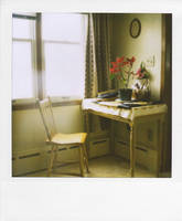 Oma's waiting chair by gregoryhawk