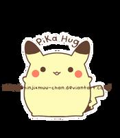 A Pika Hug for Chu by MinjiXMuu-chan