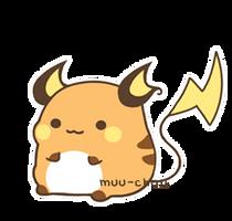 I love u, raichu by MinjiXMuu-chan