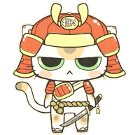 Samurai Cat-Contest Entry by MinjiXMuu-chan