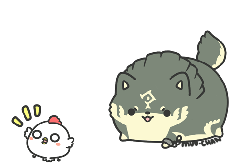 Link wolf chase by MinjiXMuu-chan