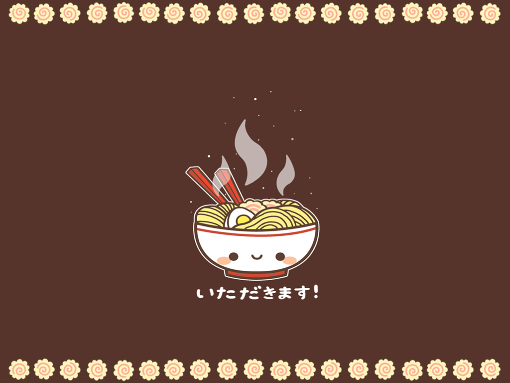 Ramen Wallpaper by MinjiXMuu-chan