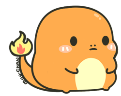 Chubby Charmander by MinjiXMuu-chan