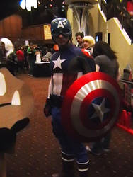 'America' Avenger At Akicon by cougashika