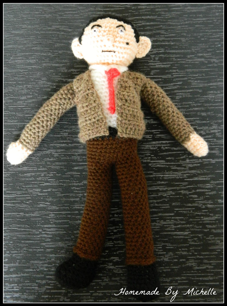 Amigurumi crochet Mr Bean dol by michvill on DeviantArt