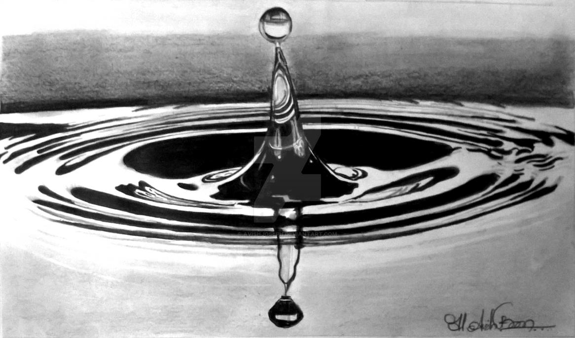 Water drop by avishjoseph