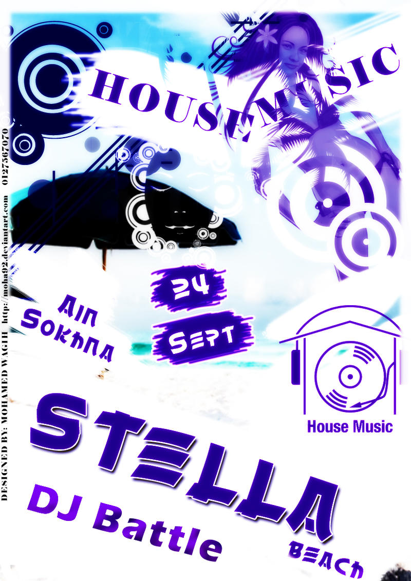 Stella egypt house music party by moha92 on deviantart for House music party