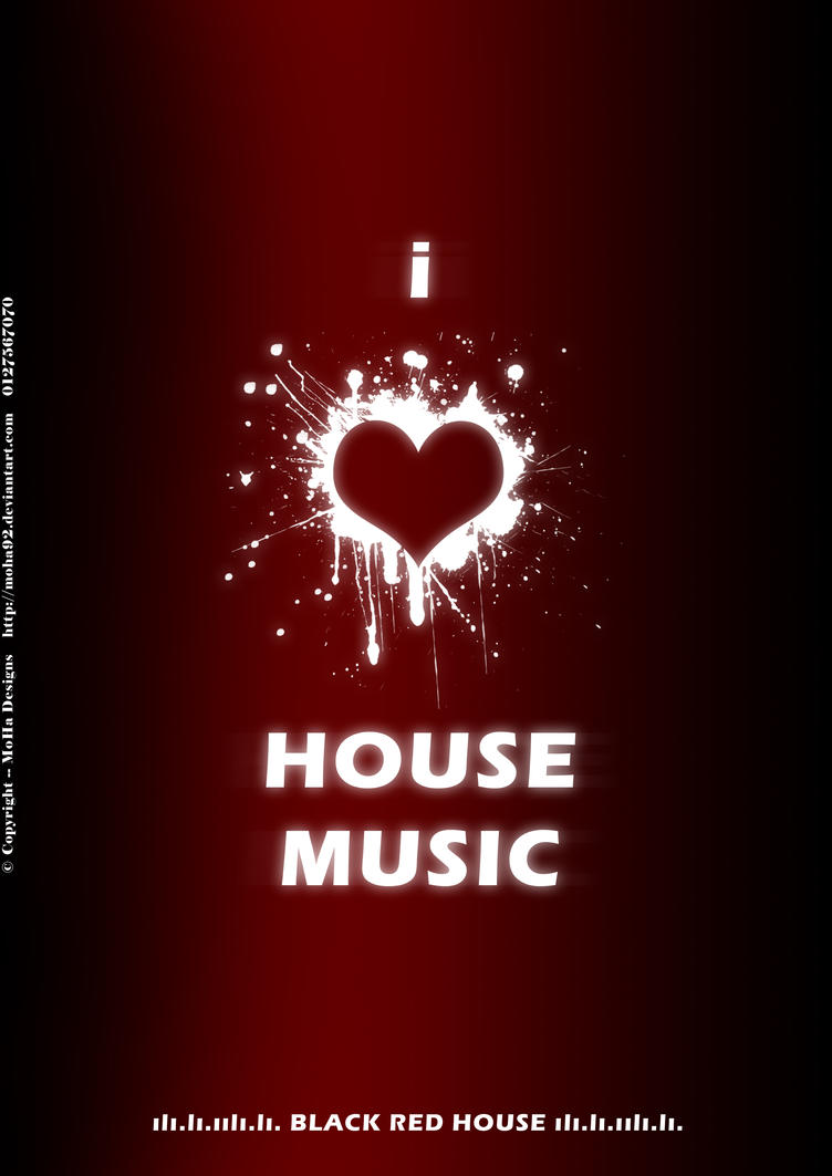 I love house music facebook by moha92 on deviantart for House music art