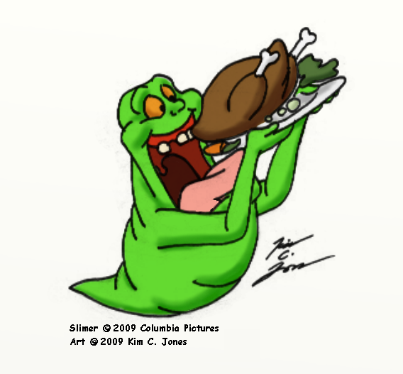 Slimer By Slasher12 On Deviantart