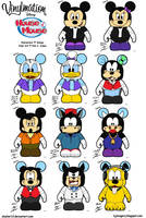 Vinylmation - House of Mouse by Slasher12