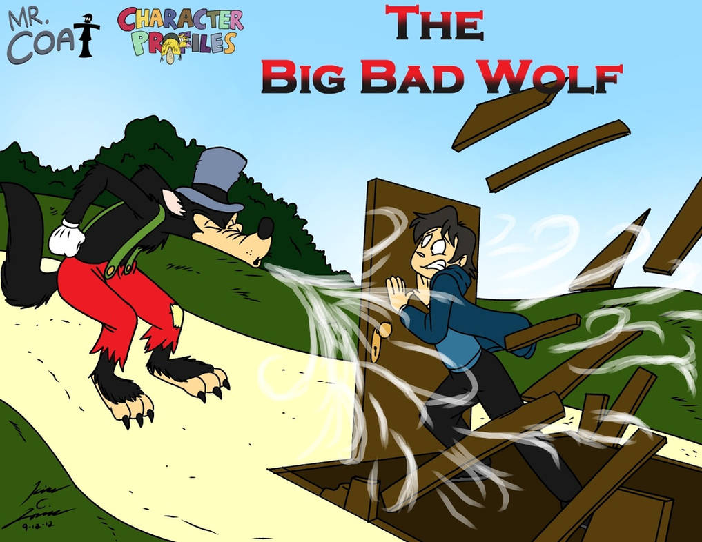 Mr. Coat Big bad wolf Proflie Card by Slasher12