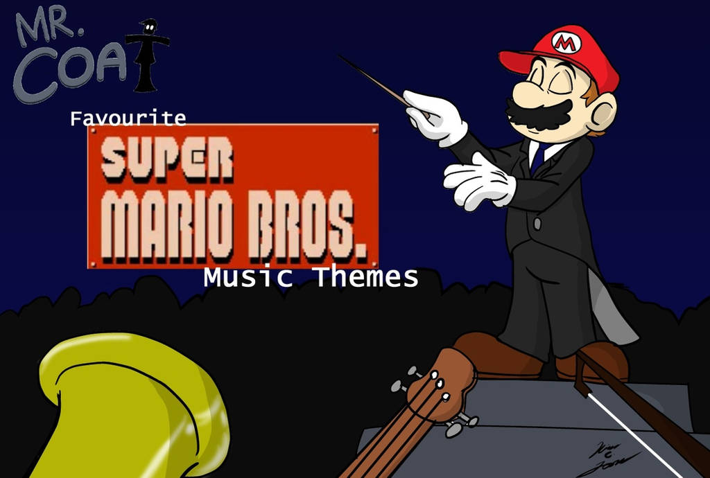 Mr. Coat Favourite Super Mario Bros Music Themes by Slasher12