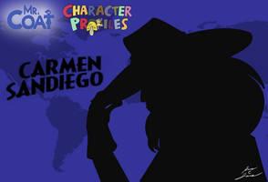 Mr. Coat: Carmen Sandiego by Slasher12
