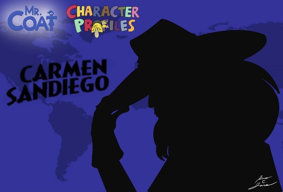 Mr. Coat: Carmen Sandiego