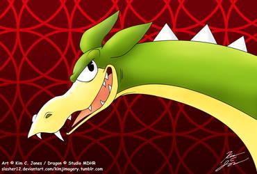 Boss Dragon by Slasher12