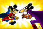 Super Mickey vs. Megamort