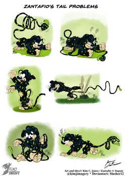 Zantafio's tail problems