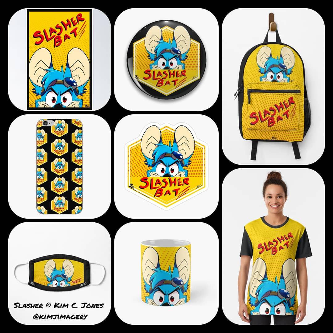 Slasher Bat items!