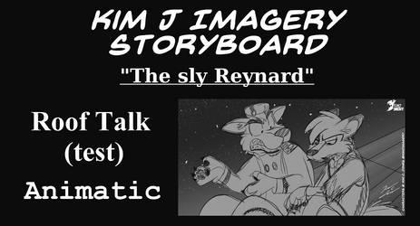 Kim J Imagery Storyboard - Roof Talk Animatic