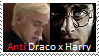 Stamp: Anti Draco x Harry by Riza-Izumi