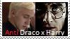 Stamp: Anti Draco x Harry by Riza-Izumi