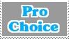 Stamp: Pro Choice by Riza-Izumi