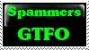Stamp: Spammer GTFO by Riza-Izumi
