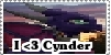 Stamp: I love Cynder by Riza-Izumi