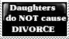 Stamp: girls and divorce by Riza-Izumi