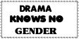 Stamp: Drama gender by Riza-Izumi