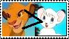 Stamp: Simba over kimba by Riza-Izumi