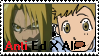 Stamp: Anti Ed X Al by Riza-Izumi