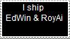 Stamp: EdWin and RoyAi by Riza-Izumi