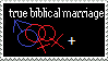 Stamp: True biblical marrige by Riza-Izumi