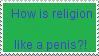 Stamp: Religion penis by Riza-Izumi