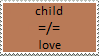 Stamp: child and love by Riza-Izumi