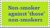 Stamp: Non smoker by Riza-Izumi