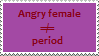 Stamp: Periods by Riza-Izumi