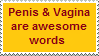 Stamp: Awesome words by Riza-Izumi