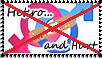Stamp: Anti Hetero and hurt by Riza-Izumi