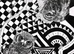 Owls in Wonderland by ApocalypticCandy