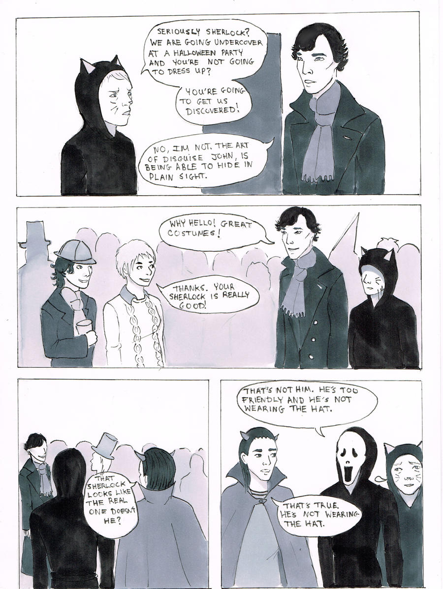 Sherlock: Halloween by ApocalypticCandy