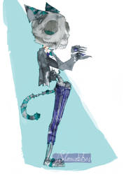 The Cheshire Man by Solanustikus