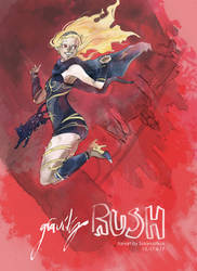 tribute: GRAVITY RUSH by Solanustikus