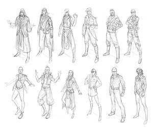 Quick sketches by alex-ichim