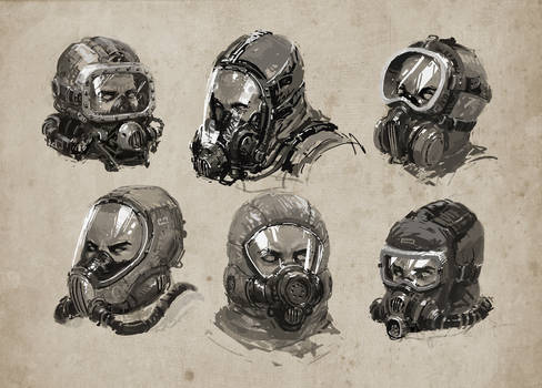 Breathing mask studies